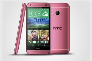 HTC One mini 2 comes in September glowing Rose Glamour